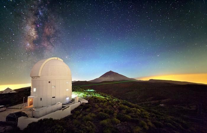 Risultati immagini per OSSERVATORI ASTRONOMICI TELESCOPI TENERIFE