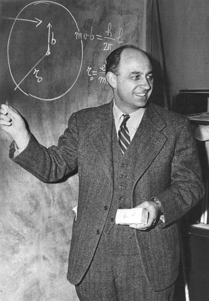 Enrico Fermi Scientist Of The Day Linda Hall Library