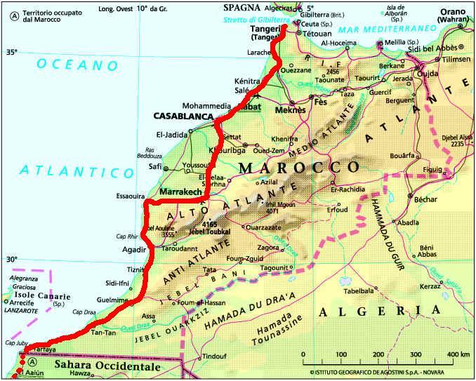 Spagna E Isole Canarie Cartina Geografica.Le Isole Canarie Sono State Un Po In Sonno Nello Scambio Commerciale Con Il Marocco