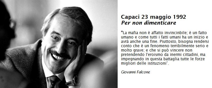 Giovanni Falcone Parliamo Di Eroi
