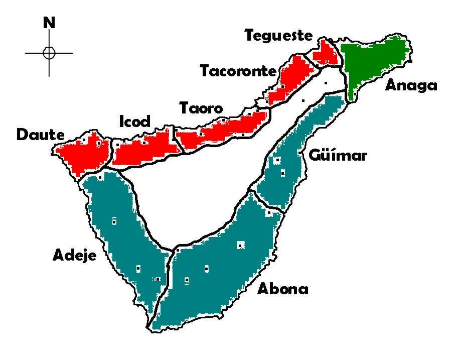 Tenerife Cartina Spagna.Nord Sud Le Due Facce Di Tenerife