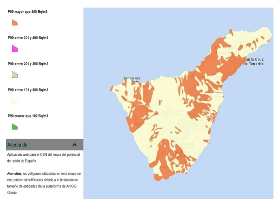 Tenerife Cartina Politica.Gas Radon Le Canarie Chiedono Allo Stato Una Soluzione