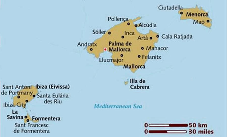 Spagna E Isole Baleari Cartina.Anche Per Le Baleari Un Regime Fiscale Simile A Quello Canario