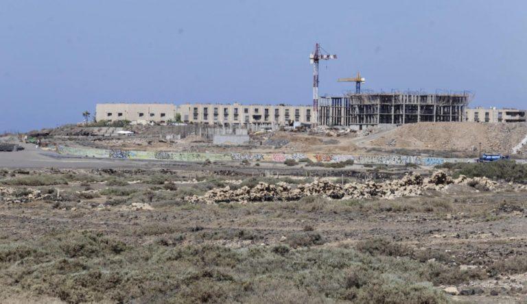 Il progetto dell'hotel La Tejita di nuovo in sospeso